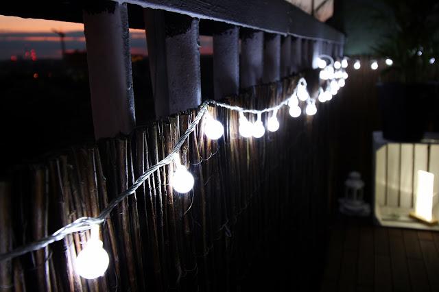 Oświetlenie Na Balkon światełka Led Refreszing