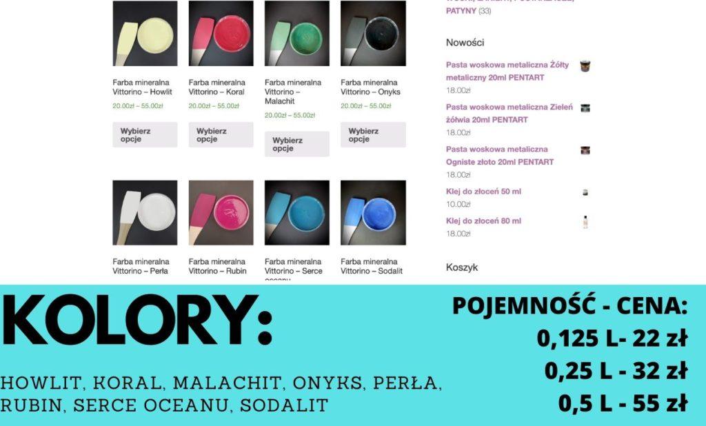 farby mineralne